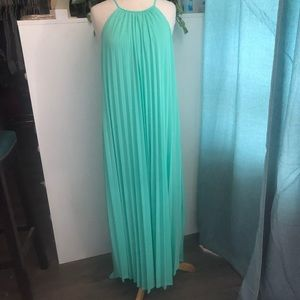Mossimo pleated maxi dress